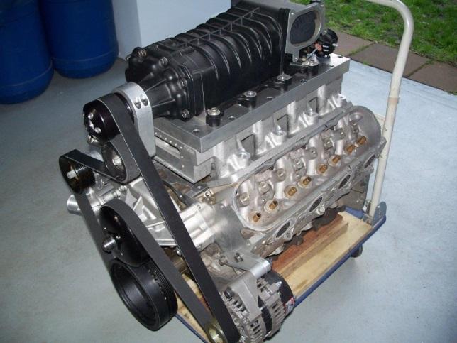 Ls Chev Supercharger Kit Jet Boat Base